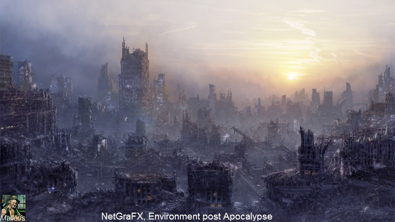 Cesec - Environment post Apocalypse