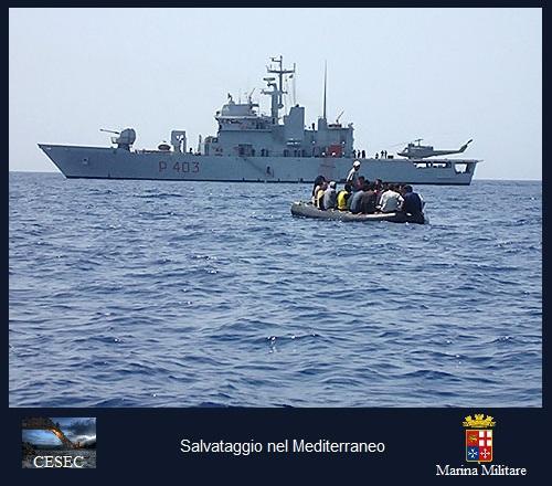 Cesec - Salvataggio nel Mediterraneo
