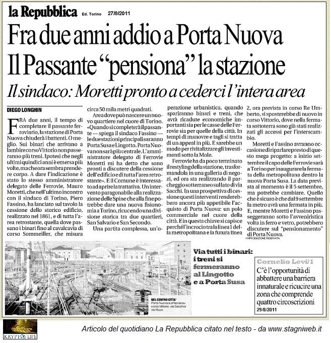 KL-Cesec - Articolo Repubblica 8.2011
