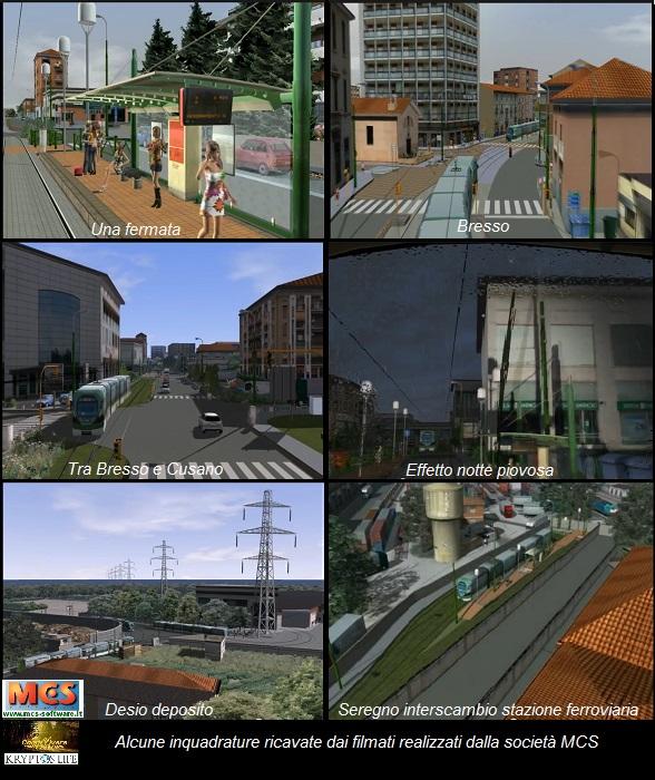 KL-Cesec - Metrotramvia inquadrature dai filmati MCS